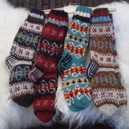 Wollen sokken